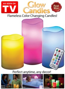 Glow Candles - As Seen on TV