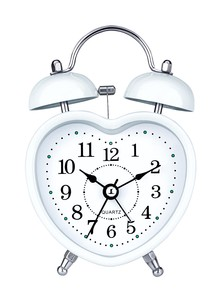 Heart-Shaped Alarm Clock