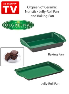 Orgreenic&#174 Ceramic Nonstick Pan - As Seen on TV