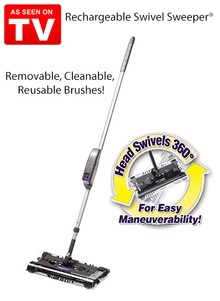 Rechargeable Swivel Sweeper&#174 - As Seen on TV