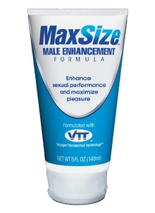 MaxSize&#153 Cream - Male Enhancement Cream