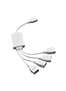 4-Port USB Extension Hub