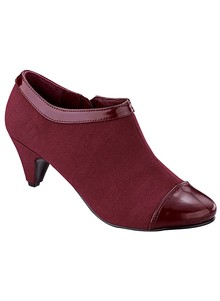 Fashionably Trimmed Booties