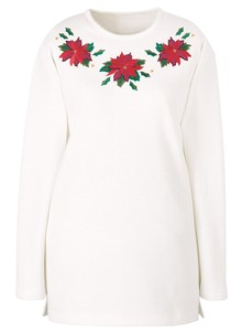 Embroidered Holiday Sweatshirts