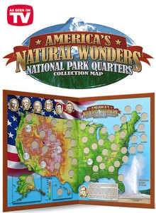 National Park Quarters Collection Map
