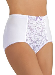 Assorted 3-Pack Lace-Front Brief