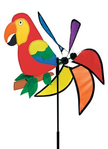 Colorful Parrot Wind Spinner
