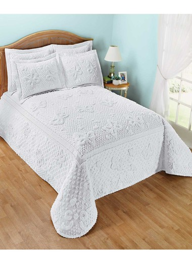 Cotton Chenille Erfly Bedding Separates