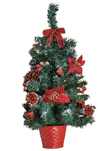 Decorated Ready-to-Hang Christmas Tree