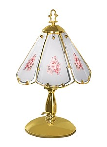 Easy Tap-On Floral Lamp