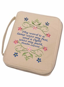 Embroidered Bible Cover