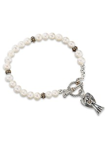 Genuine Pearl Angel Bracelet