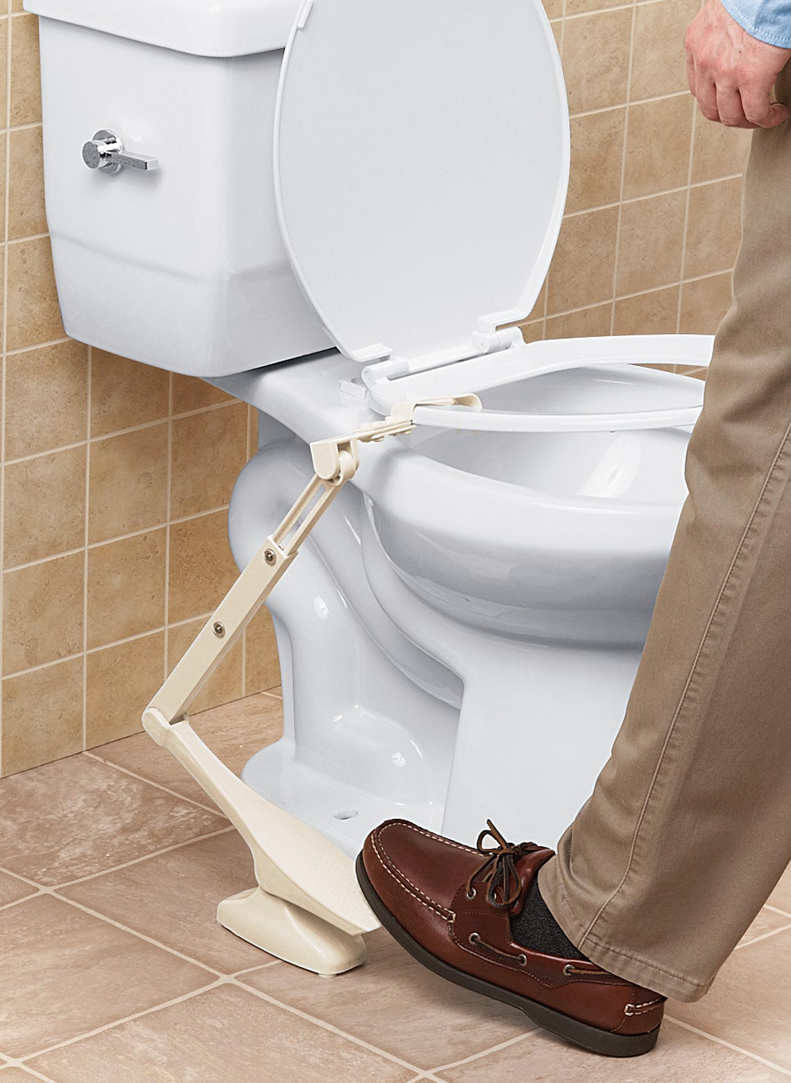 Hands-Free Toilet Seat Lifter | DrLeonards.com