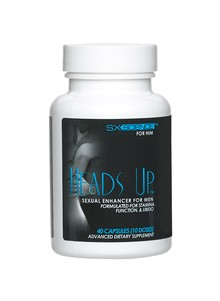 Heads Up Sexual Enhancer for Men
