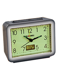 Bell+Howell&#174 Glow-In-The-Dark Alarm Clock