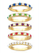 Elegant Eternity Rings