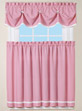 Bow Accent Curtain Set