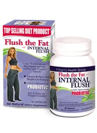 Flush the Fat with Internal Flush&#174 and High Potency Probiotic