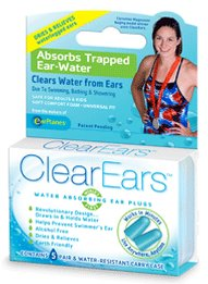 ClearEars&#153 Water Absorbing Ear Plugs