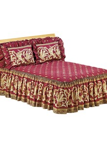Classic Scrollwork Bedspread Collection