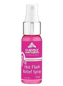 Clearly Natural&#174 Hot Flash Relief Spray
