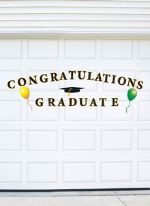 Graduation Garage Door Magnet Set