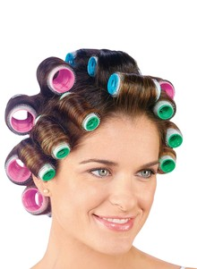 Aluminum Self-Gripping Hair Rollers