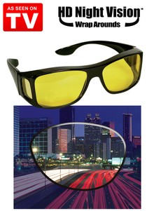 HD Night Vision&#153 WrapAround Glasses