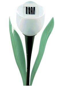 Solar-Powered Tulip Lawn Stakes