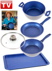 FlavorStone&#174 Essentials Cookware Set