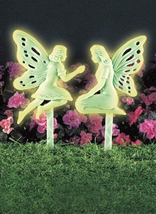 Glow-In-The-Dark Fairy Stakes