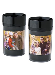 Set of 2 Photo Travel Mugs