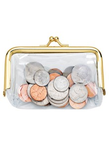 See-Through Coin Purse