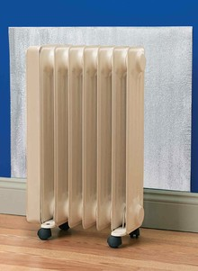 Radiator Heat Reflectors