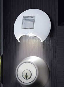 Solar Powered Keyhole Light
