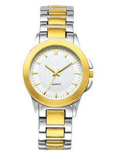 Men's Stylish Two-Tone Watch
