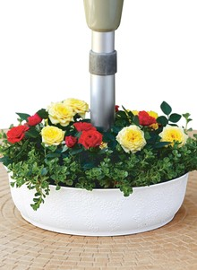 Table Umbrella Planter