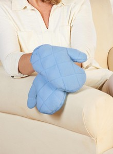 Buckwheat Heat Therapy Mitts
