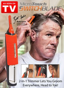 MicroTouch Switchblade&#153 2-in-1 Trimmer - As Seen on TV