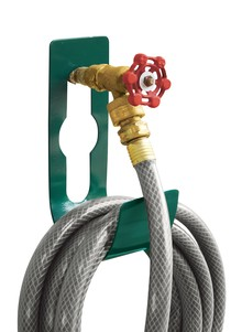 Sturdy Steel Hose Holder