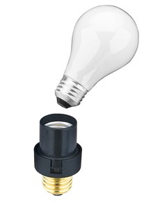 Light-Sensing Bulb Sockets