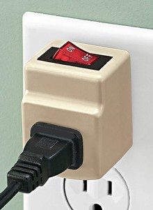 Money Saving Outlet Safety Switch