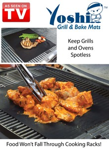 As Seen On TV Yoshi&#153 Grill and Bake Mats
