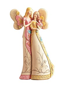 Mother & Daughter Angels Figurine
