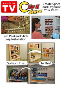 Clip N Store - As Seen on TV