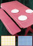 3-Piece Fitted Picnic Table & Bench Covers
