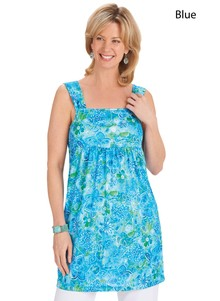Fashionable Tunic Top with Built-In Bra