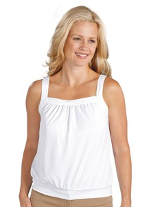 Tank Top with Built-In Bra