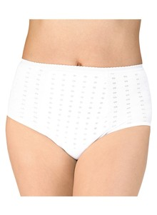 Ladies' Pointelle Incontinence Panty