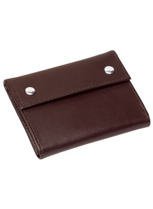 Security Snap Leather Wallet